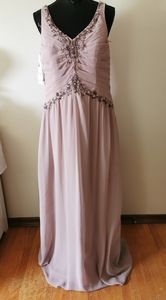 Alfred Angelo Rum Pink Gown Size 14